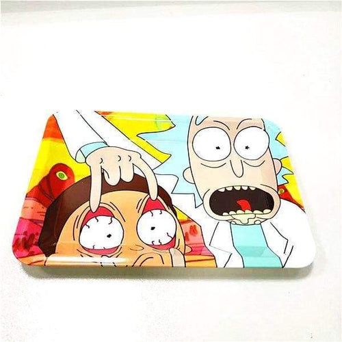 Rick and Morty Rolling Tray Eyeballs