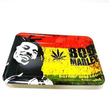 Load image into Gallery viewer, Bob Marley Jamacia Rolling Tray