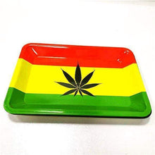 Load image into Gallery viewer, Jamacia Flag Rolling Tray