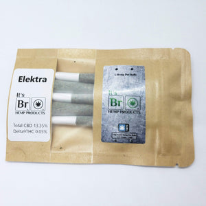 Elektra Hemp Flower Pre Roll Cones - 5 Pack