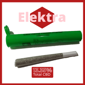 Elektra Single Pre Roll With Green Doob Tube