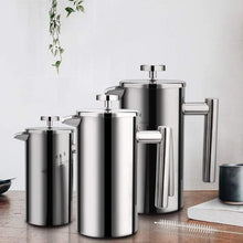 Load image into Gallery viewer, French Press - Double Wall Stainless Steel