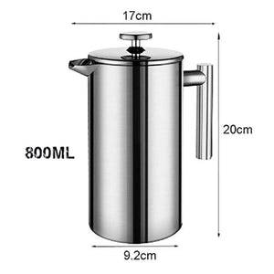 French Press - Double Wall Stainless Steel