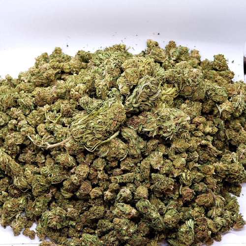 Hawaiian Haze Hemp Buds Bulk Flower CBD Pack - Heat Sealed Bag One Pound
