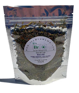 CBD Hemp Herbal Tea - Relax Bro Lavender Spearmint Ginkgo Biloba