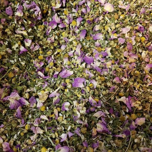 Herbal Loose Leaf Hemp Flower Blend Tea - Beathe - It's Bro Hemp Products | Dried Raw Herb Flower and Pre-Rolls