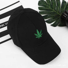 Load image into Gallery viewer, Hemp Leaf Image Dad Cap