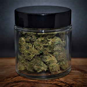 Lifter Select Hemp Flower 7.0 grams in a glass jar - Its Bro Hemp Products