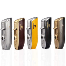 Load image into Gallery viewer, Windproof Triple Flame Torch Lighter - Cohiba