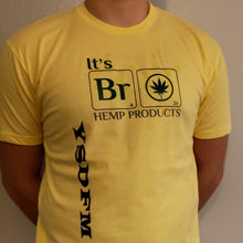 Load image into Gallery viewer, YSDFM - It's Bro Hemp Collaboration - Yellow - Front