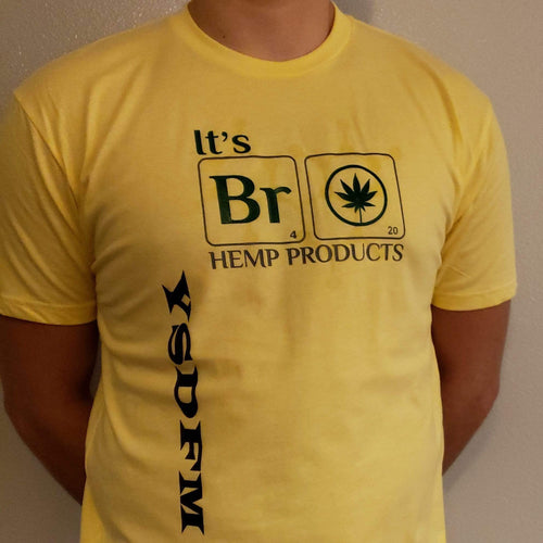 YSDFM - It's Bro Hemp Collaboration - Yellow - Front