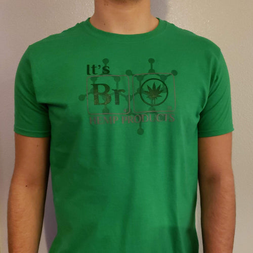 YSDFM - It's Bro Hemp Team Shirt - Green - Front