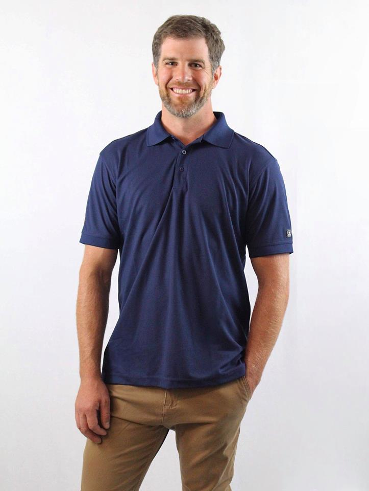 Golf Polo - Navy (Men's)