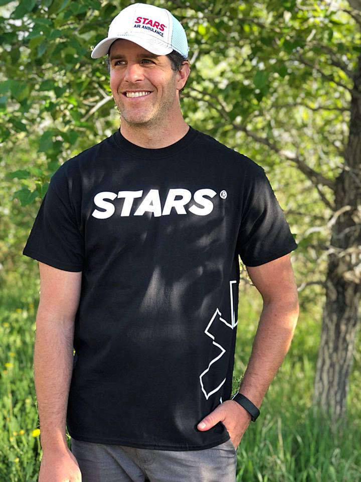 We Are All STARS Tee - Black