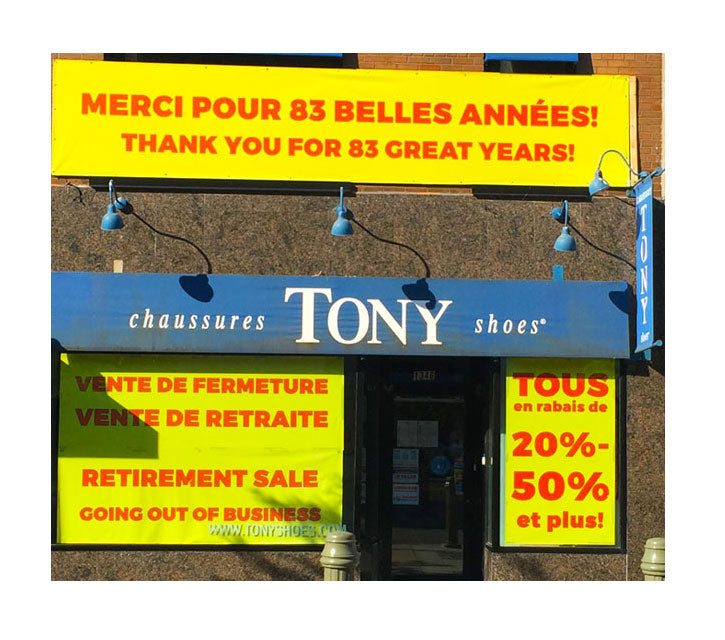 Chaussures Tony Shoes Inc.