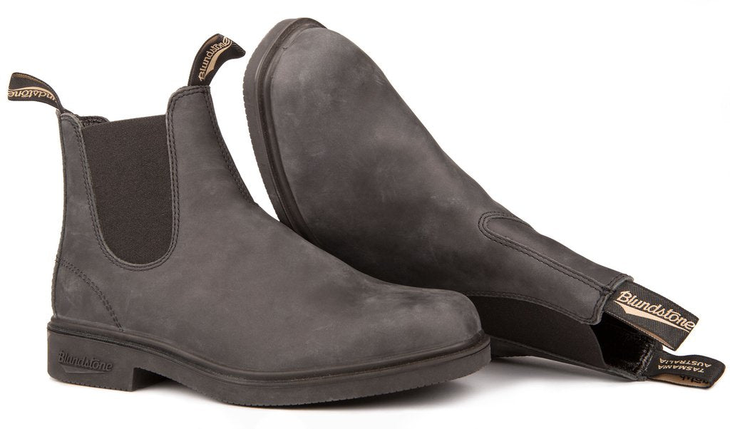 Blundstone 1308 - The Chisel Toe in Rustic Black