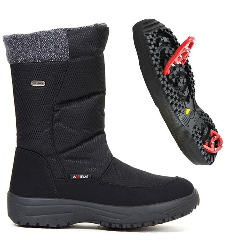 TONY SHOES ATTIBA BOOTS, TONY SHOES WINTER BOOTS WITH PIVOTING GRIPS