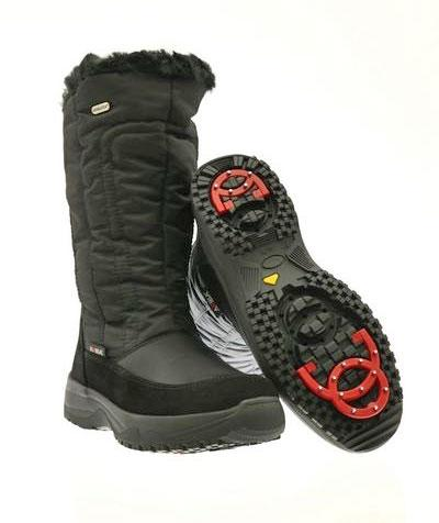 TONY SHOES ATTIBA BOOTS WITH PIVOTING CRAMPONS, ATTIBA 81010 OC48, ANTI-SLIP WINTER BOOTS