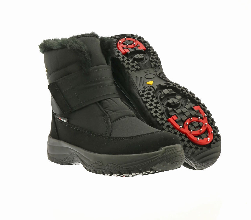 TONY SHOES ATTIBA WINTER BOOTS WITH PIVOTING GRIPS, ATTIBA 817 WINTER BOOTS, ANTI-SLIP WINTER BOOTS