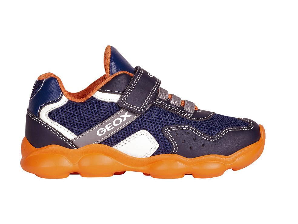 TONY SHOES GEOX JUNIOR MUFREY, GEOX BREATHABLE SHOES, GEOX KIDS SHOES