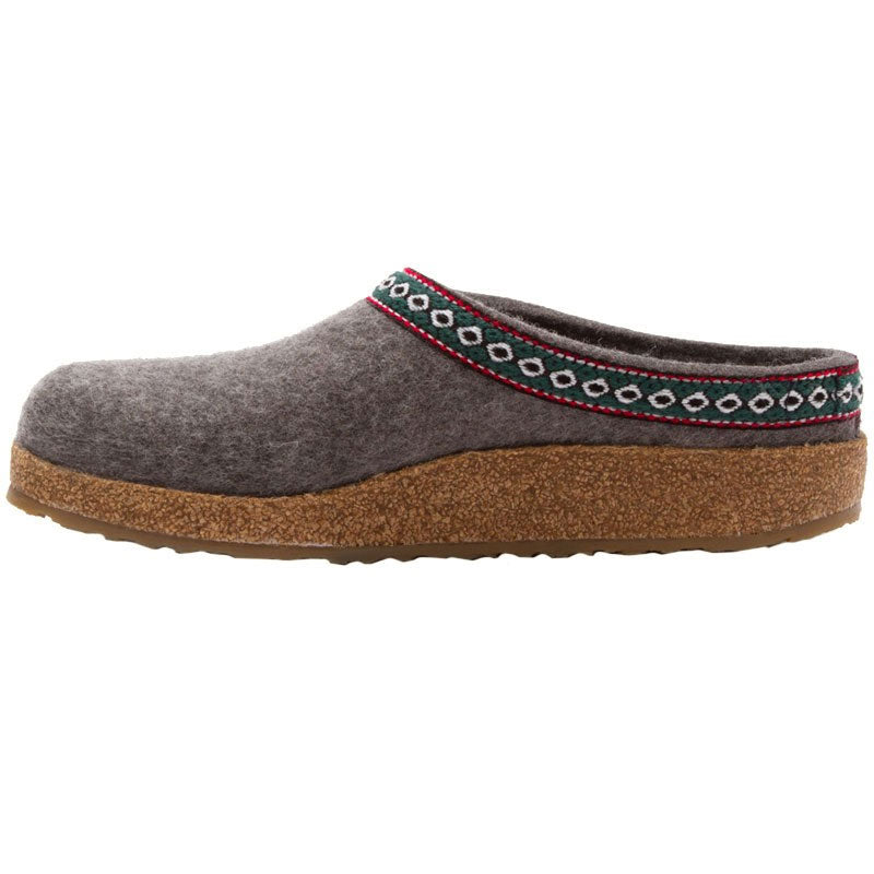 TONY SHOES HAFLINGER SLIPPERS, TONY SHOES HAFLINGER GRIZZLY CLOG