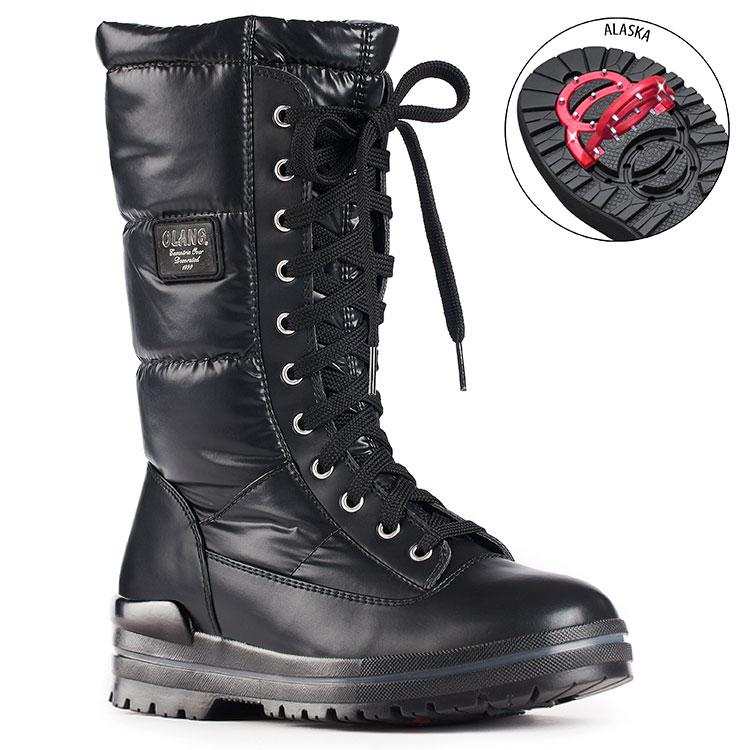 TONY SHOES OLANG GLAMOUR BOOTS WITH PIVOTING GRIPS, OLANG WINTER BOOTS, OC-SYSTEM