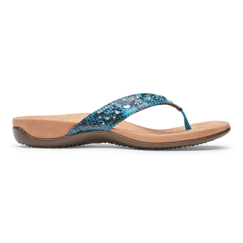 TONY SHOES VIONIC SHOES LUCIA TOE POST, VIONIC SANDALS, VIONIC COMFORT SANDALS