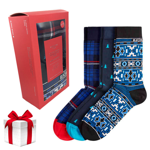 BJORN BORG SOCKS HOLIDAY 3-PACK