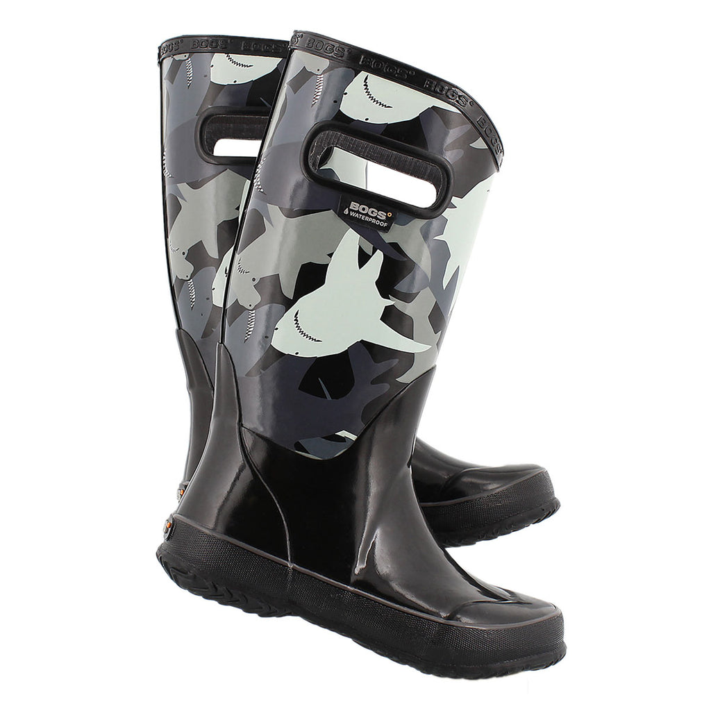 BOGS RAINBOOT SHARKS