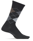 FEETURES MEN'S ARGYLE CREW