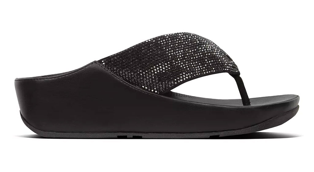 FITFLOP TWISS CRYSTAL THONG