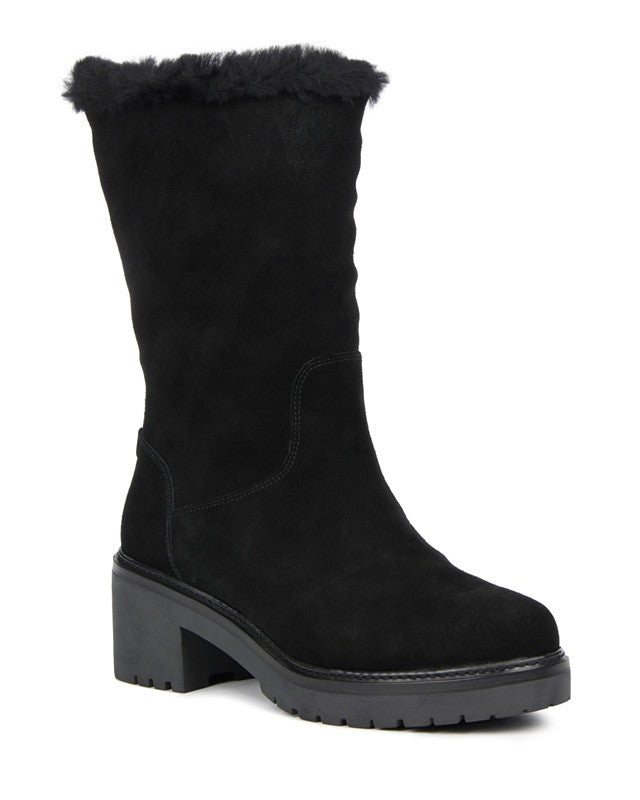 MICHAEL MICHAEL KORS WHITAKER SUEDE MID BOOT