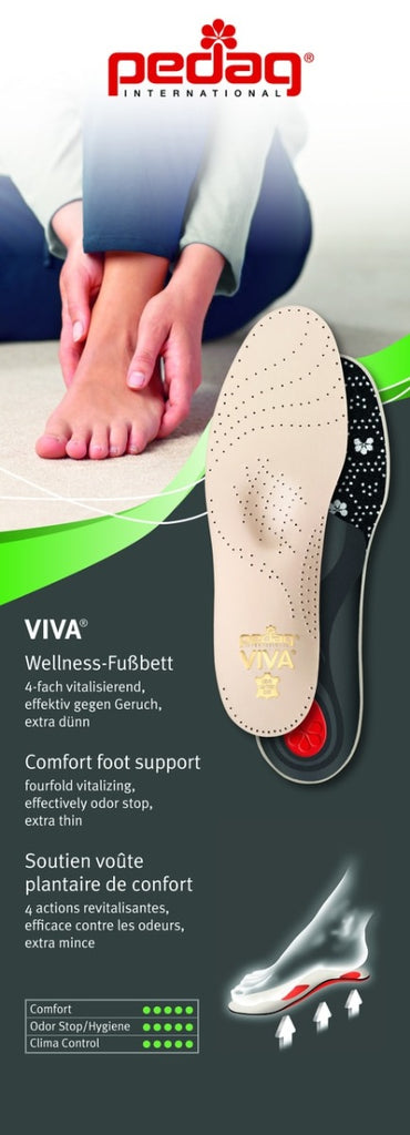 pedag viva leather insoles