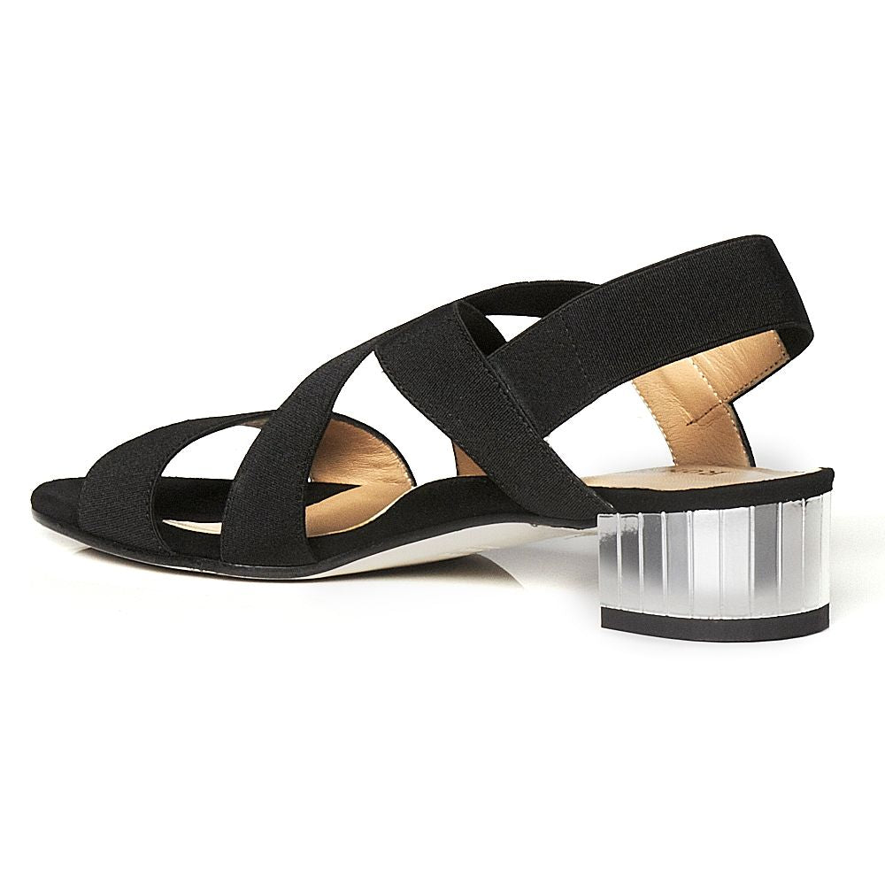 RON WHITE EVE SANDAL