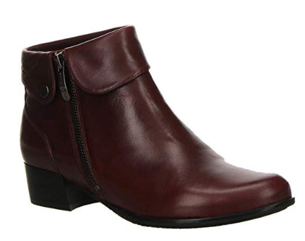 TONY SHOES SALAMANDER SATARA SANGRIA, TONY SHOES ANKLE BOOTS, MONTREAL SHORT BOOTS, ANKLE FALL BOOTS