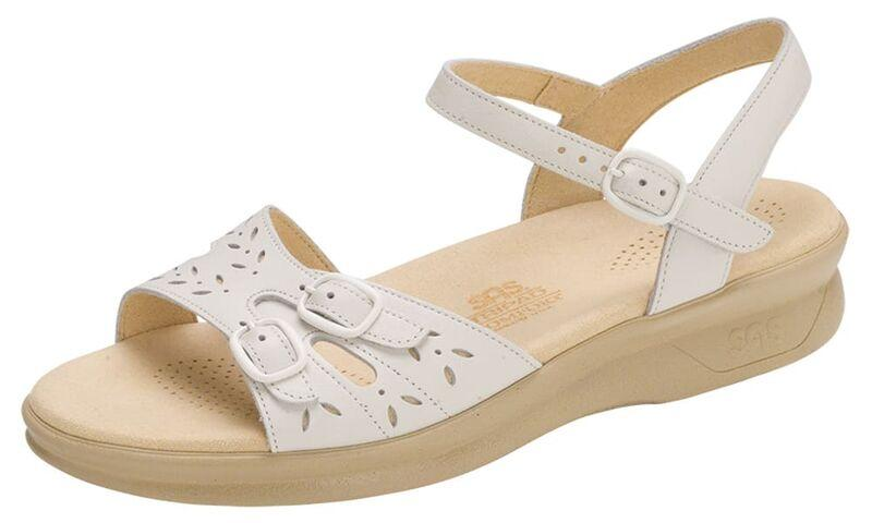 TONY SHOES SAS DUO SANDALS WHITE, SAS COMFORT SANDALS, TONY SHOES WIDE SANDALS, TONY SHOES NARROW SANDALS