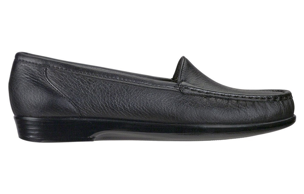 SAS SIMPLIFY BLACK LEATHER | SAS SIMPLIFY CUIR NOIR