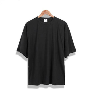Street Loose Solid Color T-Shirt