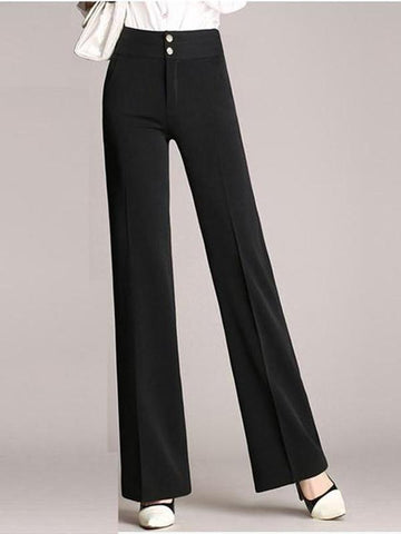 Loose Casual High Waist Wide Leg Pants