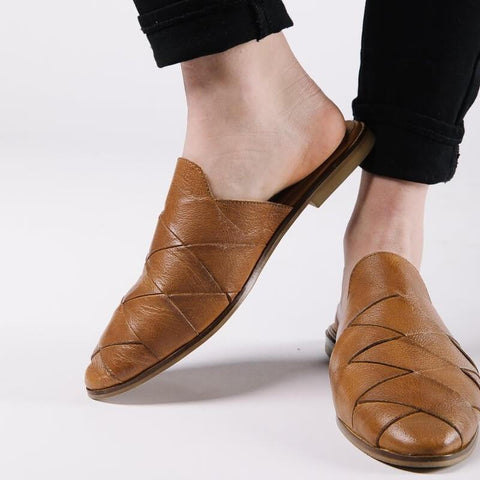 Fashion Casual   Wild Point Flat Shoes