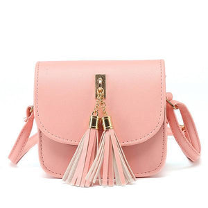 Small Chains Bag Women Candy Color Tassel Messenger Bags