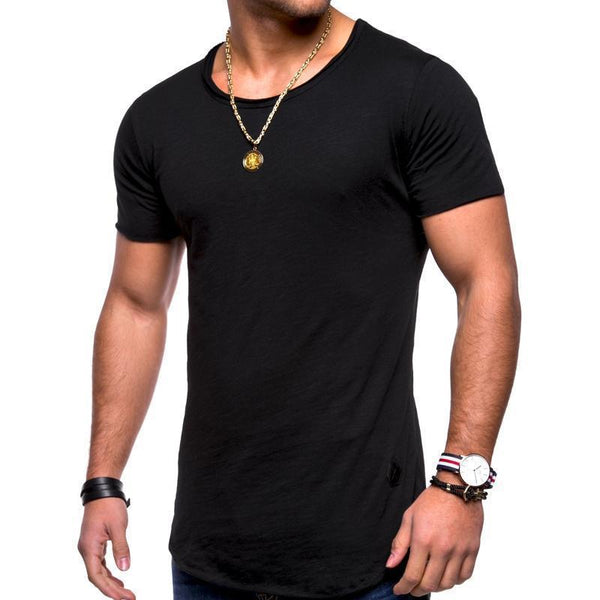 Basic Simple Cotton Comfortable T-Shirt