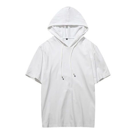 Basic Loose Tshirt With Hood
