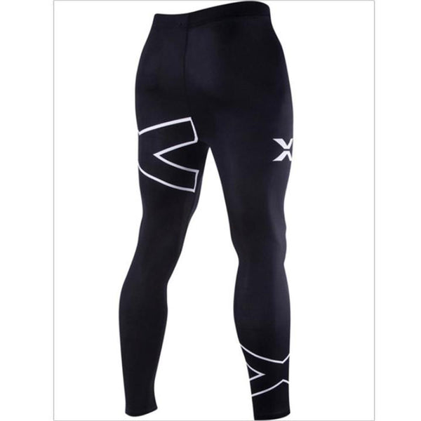 Fashion Close-Fitting Print Sport Long Pants