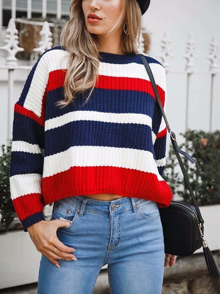 Stitching Loose Sweater
