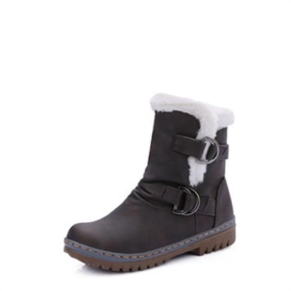 New Large-Size Thickened Snow Boots