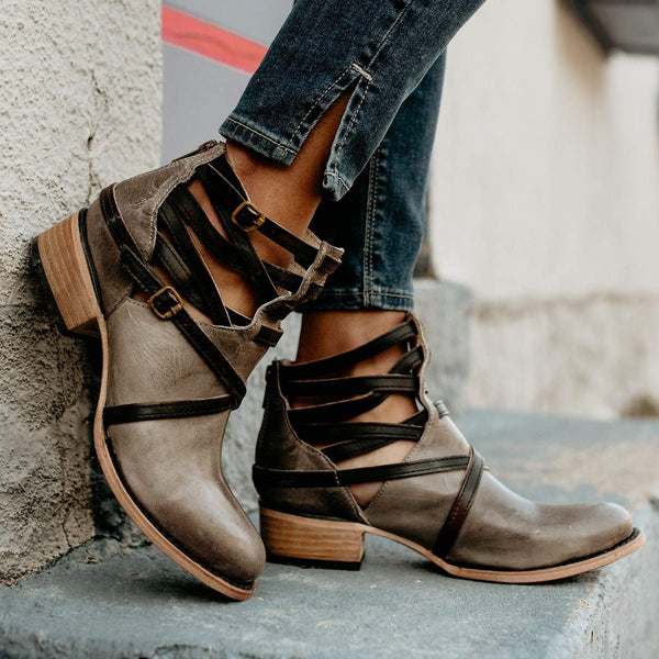 Fashion Stylish Multi-Color Women's Boots