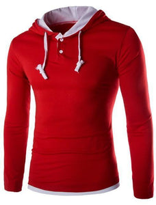 Autumn Slim Fit   Pullover Hoodies Tops