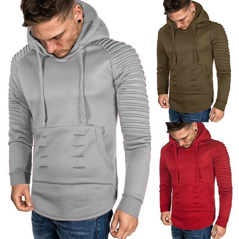 T-Shirt  Casual Solid Color Top Hoodie