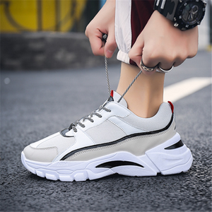 Men's trend breathable casual color matching sneakers